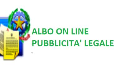 Albo on line – Pubblicità legale